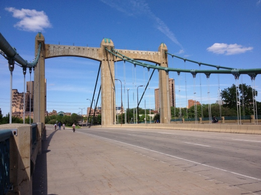 Hennepin Avenue bridge (this one was built in 1991).