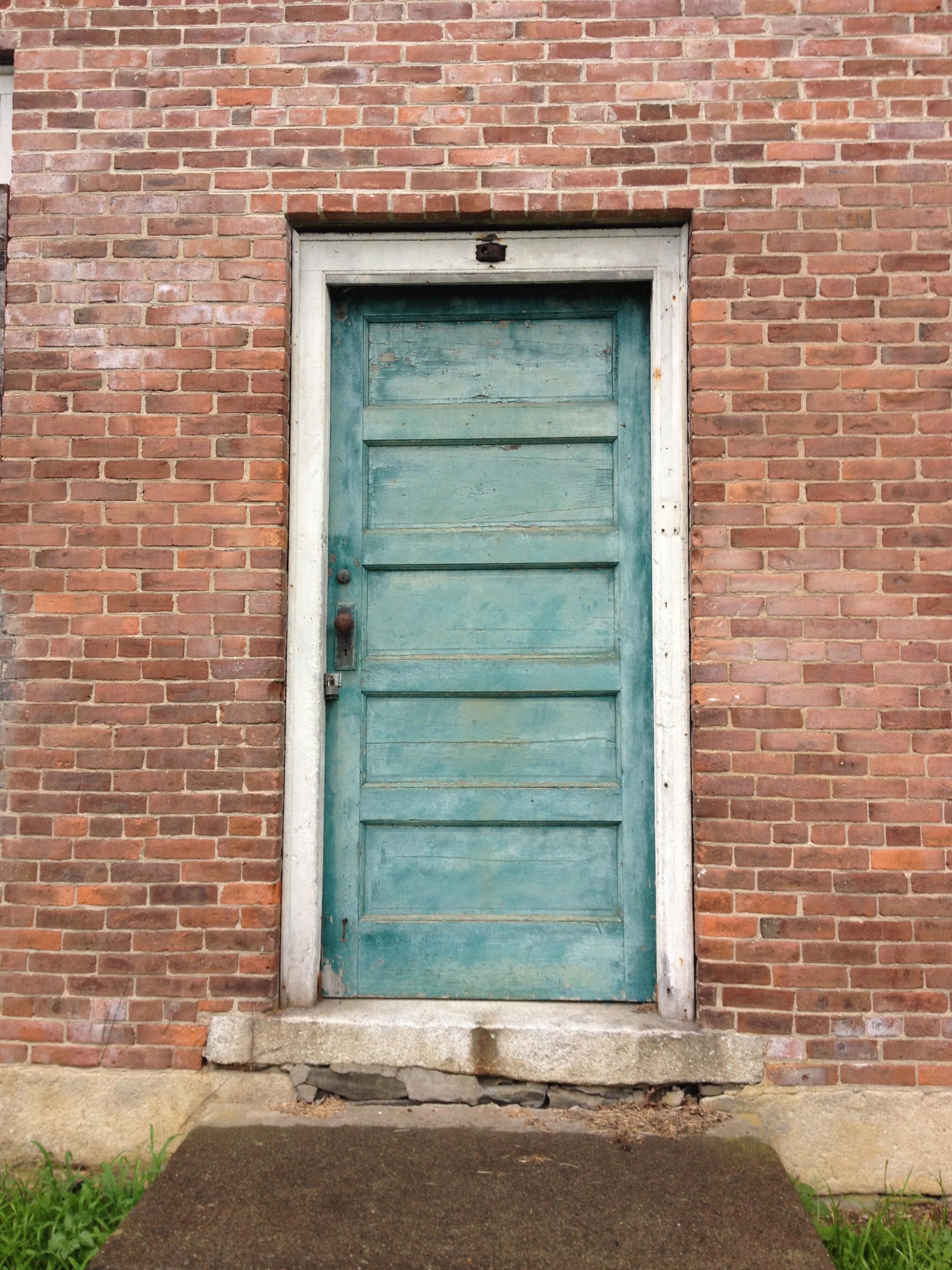 The front door. & Abandoned Vermont: Putney Schoolhouse \u2013 Preservation in Pink
