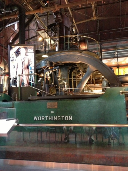 The Worthington steam engine.
