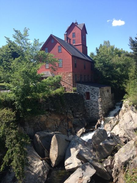 The Old Red Mill in Jericho, VT.