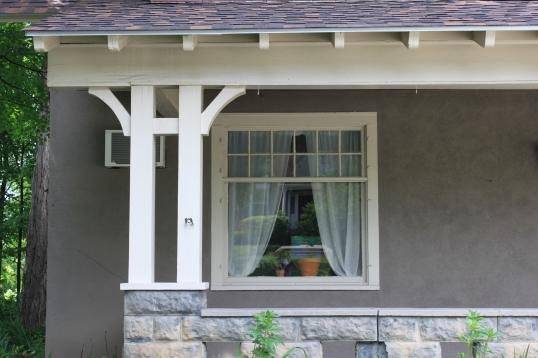 W is for Window.