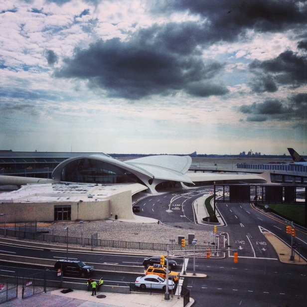 TWA Terminal designed by Eero Saarinen at JFK International Airport.