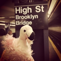 Hanging out in the NYC Subways.