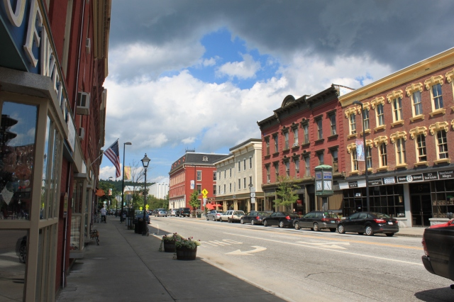 The viewshed of historic downtown Montpelier, VT.