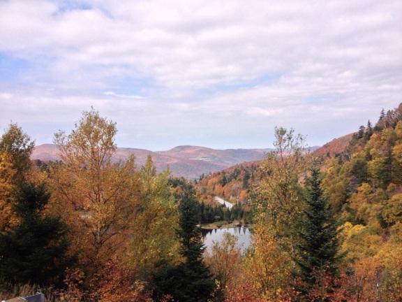 VT Route 17, at the Appalachian Gap.