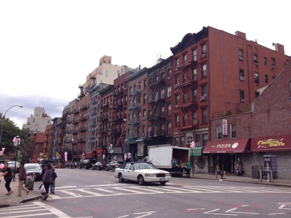 Strolling the LES.