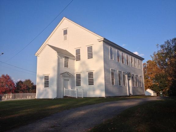 Rockingham Meeting House.