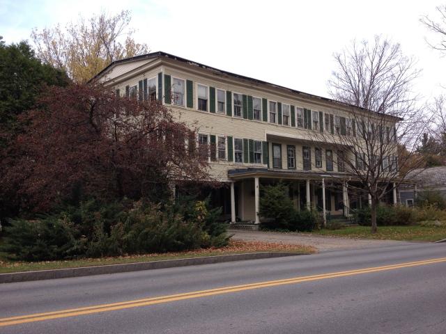 Abandoned Vermont: Manchester Inn