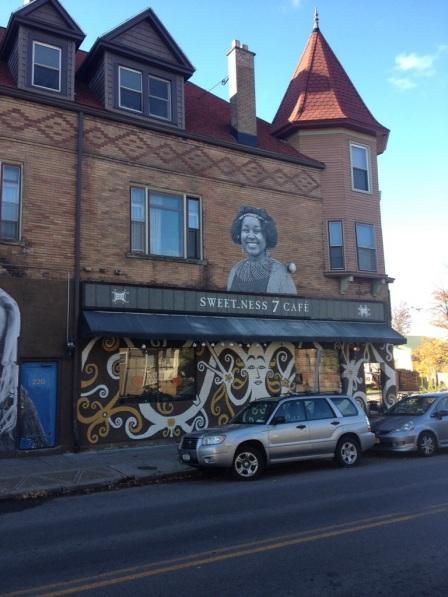 Sweetness 7 Cafe in Buffalo.