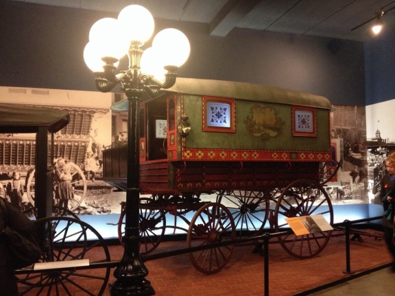 An actual gypsy wagon.