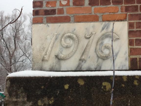Cornerstone. 1916.