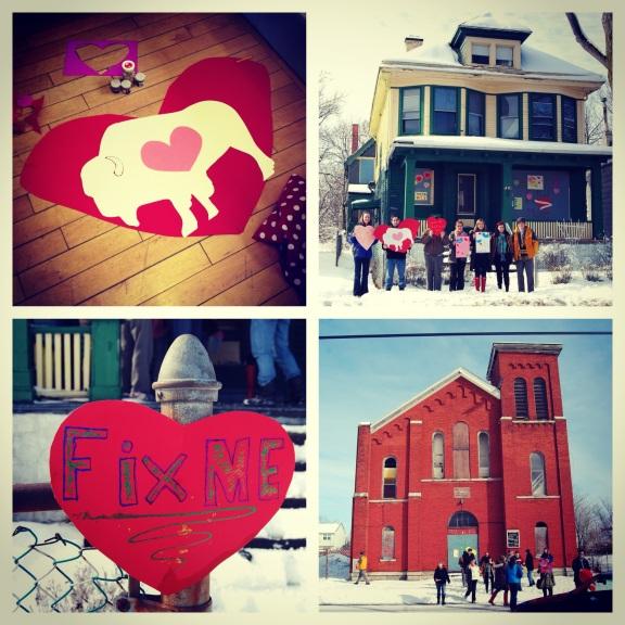 Buffalo heart bombs. Photo courtesy of Bernice Radle.