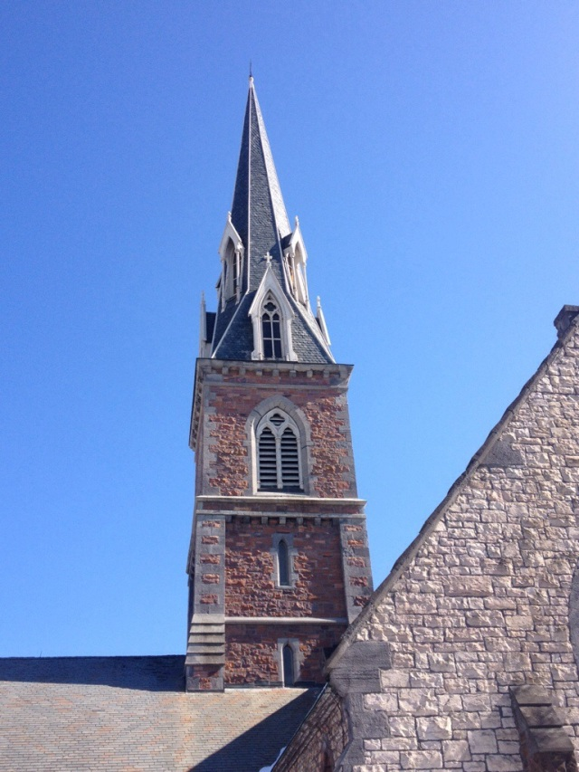 Have you looked up lately? Steeples contain significant architectural features.