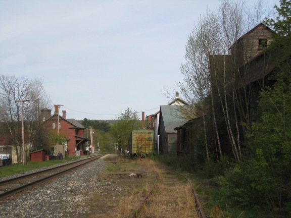 Looking to the Randolph Depot.