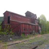 Abandoned Vermont: Randolph Coal & Ice Shed