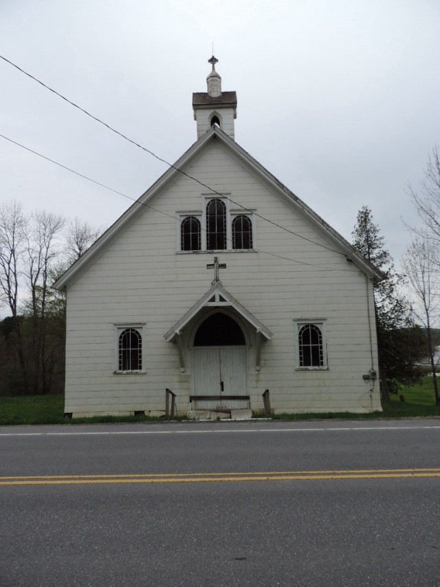 Abandoned Vermont: Hubbardton Church