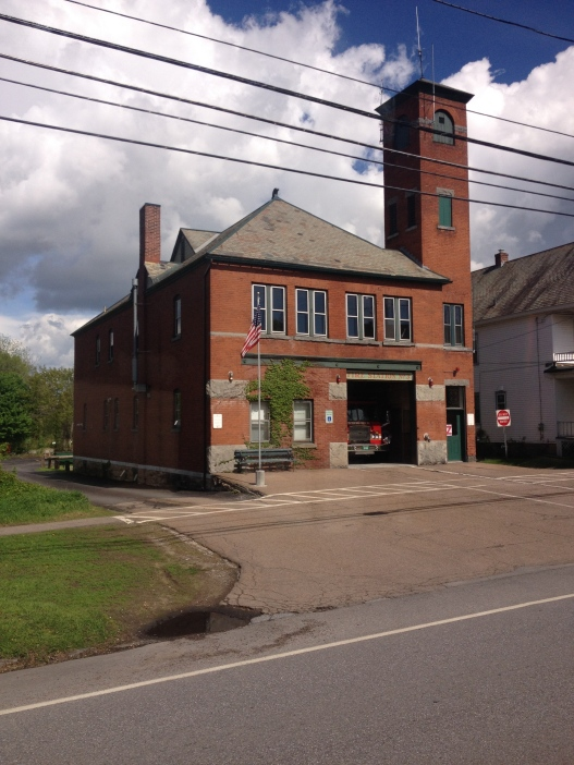 A historic firehouse.
