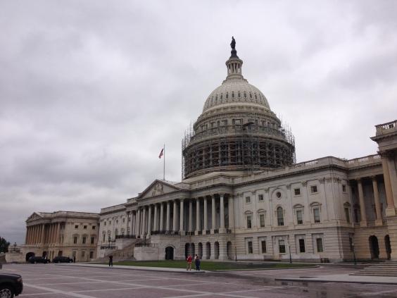 The U.S. Capital.