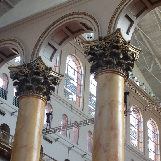 Finally, I saw these in person. I've wanted to see these columns and capitals for years.