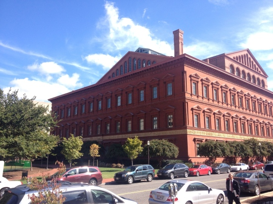 The National Building Museum, the former U.S. Pension building.