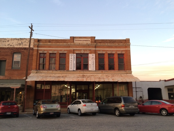 First up: the exterior of the building in Buena Vista, GA.