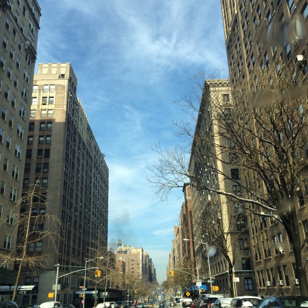 The Upper West Side on a lovely sunny afternoon.