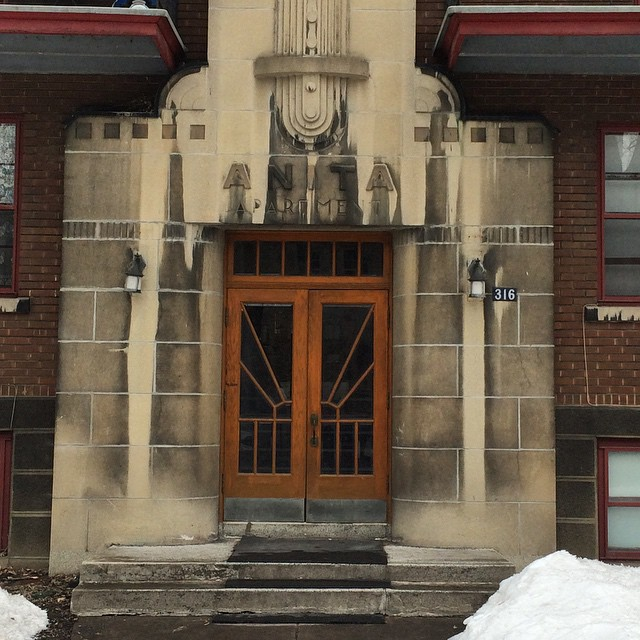 Doors of Montreal Anita Apartments. #presinpink & Doors of Montreal Anita Apartments. #presinpink u2013 Preservation in Pink