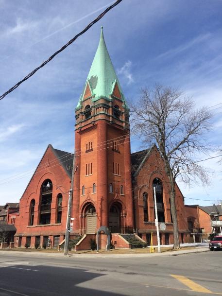 The Victoria Presbyterian Church converted to condos.