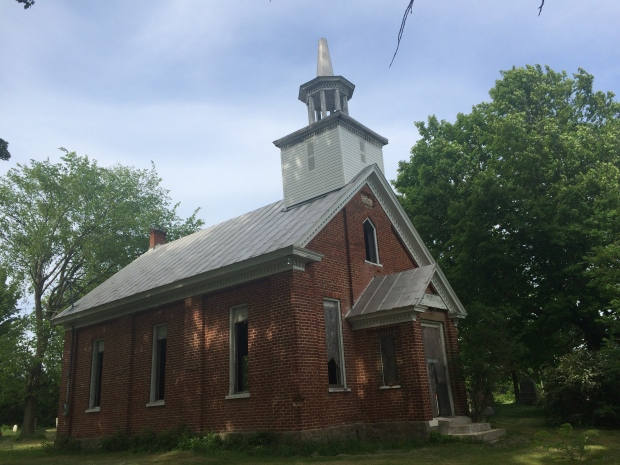 Henrysburg Methodist Church, 1861.
