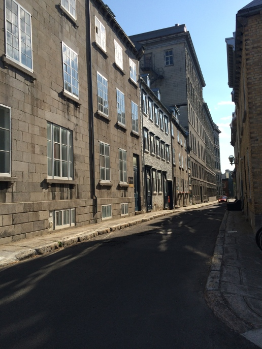 Street after street.