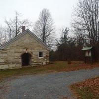 Abandoned Vermont: 1829 Sudbury Schoolhouse