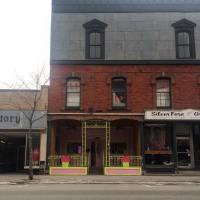 Interesting storefront in Claremont, NH. #presinpink
