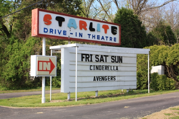 Starlite Drive In sign credit Raina Regan