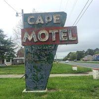 Roadside America: Cape Motel, Route 13, Cape Charles, VA. #presinpink