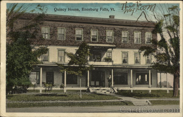 Street View of Quincy House Enosburg Falls, VT