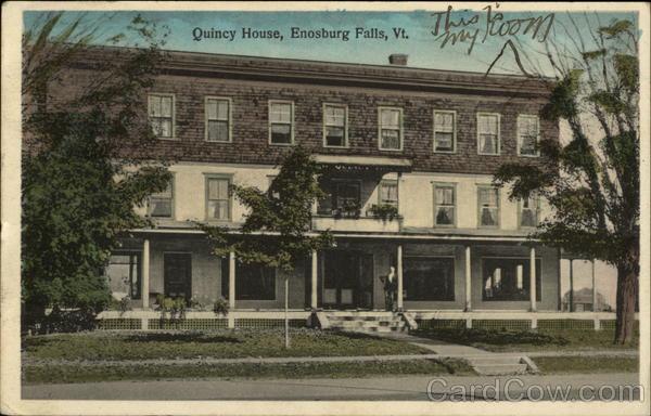Street View of Quincy House Enosburg Falls, VT